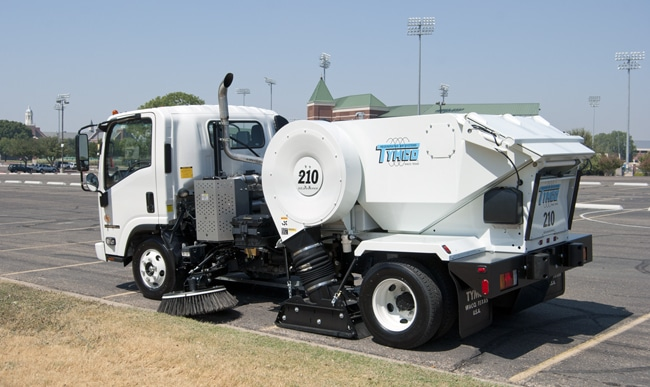 NAPSA Power Sweeping - Texas - Tymco