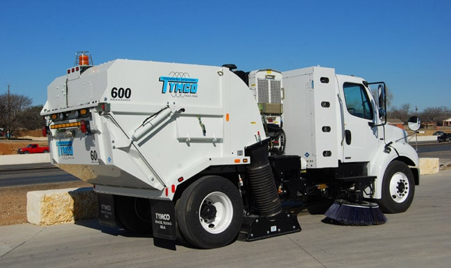 NAPSA Power Sweeping - Kentucky - Tymco