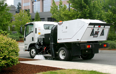 Raptor Edge City Hall Street Sweeping